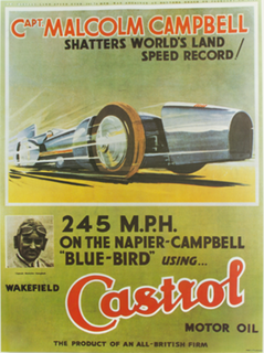 Castrol Classic Land Speed Poster Set (4)